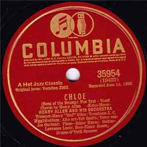 Henry Allen And His Orchestra - Chloe (Song Of The Swamp) / Rosetta Album Herunterladen